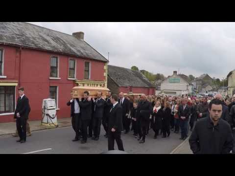 A Final Goodbye: Jim Carrey Carries Cathriona's Casket At