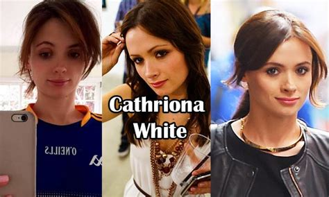 Cathriona White Bio, Age, Height, Weight, Early Life